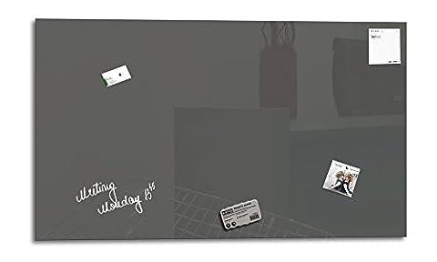 Smart Glass Board ® 90 x 45 cm, Gris, Tableau