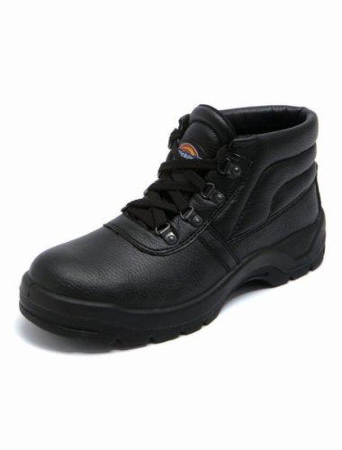 Dickies  Redland, Chaussures de sécurité pour homme Noir noir 41.5 noir
