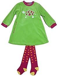 AGATHA RUIZ DE LA PRADA - Vestido tortuga, bebe niña, Color: verde, Talla: 24 meses