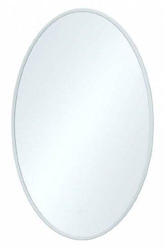 Badspiegel oval mit Facettenschliff 600 x 450 mm