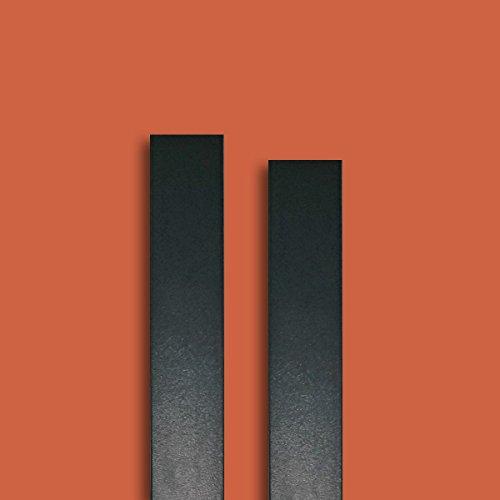 Fensterleiste RAL 7016 anthrazitgrau-glatt 30 mm breit 6m lang Flachleiste Abdeckleiste Dekor Leiste farbig