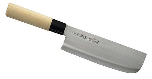 Japanisches Kochmesser, Usuba, einseitig geschliffen, Holzgriff