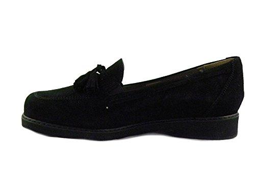 F.lli Tomasi Cómodo Zapato Para Plantillas Owen Black I0185 -