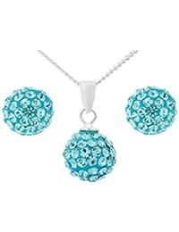 c8d4c93a7003 Bellísima Juego de mujer cristales Swarovski ELEMENTS austriacos