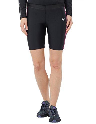 ultrasport-11057-pantalones-cortos-de-correr-para-mujer-color-negro-rosa-neon-talla-m