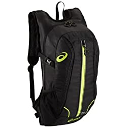 Asics Running Backpack - Negro / verde de neón