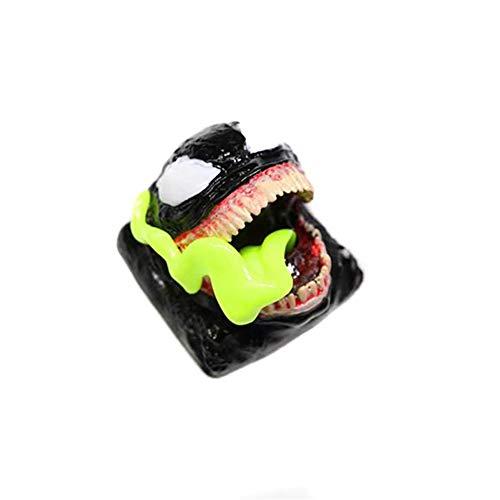 KKSY tastenkappen Venom Marvel Resin OEM Höhe R1 Geeignet für mechanische Tastaturen wie Cheery,Yellow