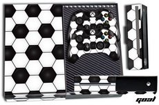 Xbox One Console + Controller Skin - Goal