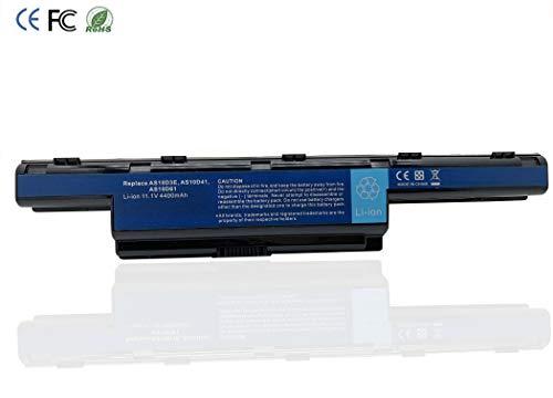 Remplace AS10D3E AS10D31 AS10D41 AS10D61 AS10D71 AS10D81 batterie d'ordinateur portable pour Acer Aspire 4250G 4350G 5741G / TravelMate / Emachines / Packard Bell série [ Li-ion 11.1V 4400mAh]
