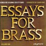 Essays for Brass  Volume 1