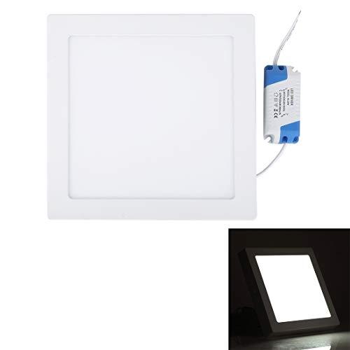Preisvergleich Produktbild Xiaochou@sl 18W Indoor Warm White LED Platz Panel Light,  Lichtstrom: 1480lm,  Größe: 22.5cm x 22.5cm x 3.5cm Ziemlich (Artikelnummer : S-led-5547wl)
