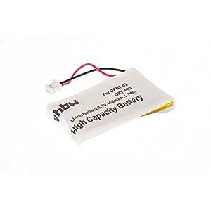 vhbw Akku passend für Nintendo GameBoy Micro (GBM) Spielekonsole ersetzt Nintendo OXY-001, OXY-003,GPNT-02 – (Li-Ion, 460mAh, 3.7V)