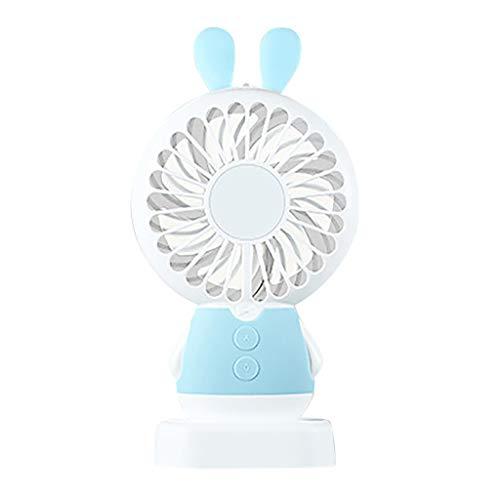 MEIbax Luces de Colores Ventilador de Mano Mini Ventilador Portátil Ventilador de...