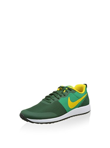 Nike Elite Shinsen, Chaussures de Running Compétition Homme, Vert, Taille Multicolore - Verde / Azul / Amarillo (Gorge Green / Vvd Sulfur-Lcd Grn)