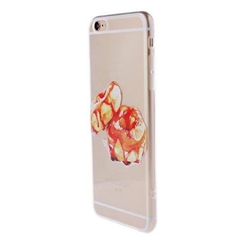 Generic Klar Donut Kreisringmuster Telefon-Kastenabdeckung Shell Für Iphone 6 6s 6 Plus - Für Iphone 6 Plus Color1 Für Iphone 6 Plus Color 7