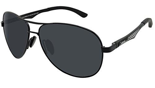 LZXC Polarisierte Sonnenbrille für Männer Outdoor Sport Brillen Unzerbrechliches Federscharnier...