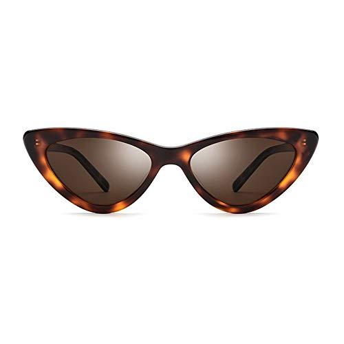 Cat Eye Objektiv - New Leopard kleinen Rahmen polarisierte Sonnenbrille