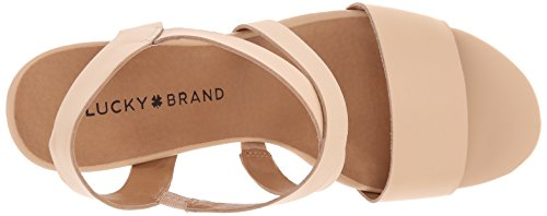 Lucky Brand Pacora Cuir Sandales Natural