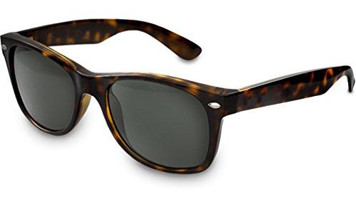 UVprotect® Wayfarer style Sonnenbrille Havana W01