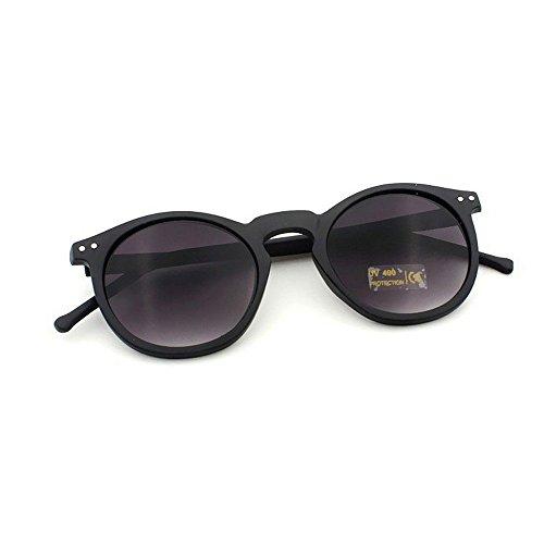 DAY.LIN Ray Ban Sonnenbrille Damen Herren Frauen Fashion Circular Sonnenbrille Metallrahmen Sonnenbrille Marke Klassische Ton Mirr (C)