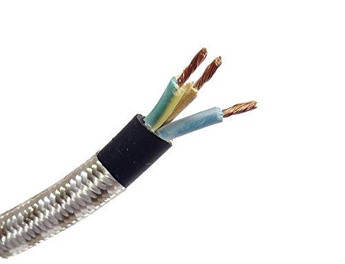 Als Direct Ltd TM 50m 1mm 3Core nicht geknickt Eisen geflochten Flex -