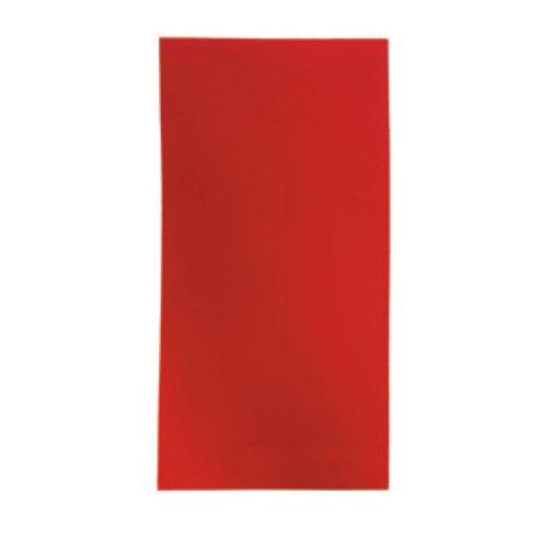 Wachsplatten 2 Stück rot 20 x 10 cm uni – Verzierwachs zum Kerzen dekorieren