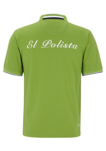 """Poloshirt """"El Polista"""" Kiwi"""