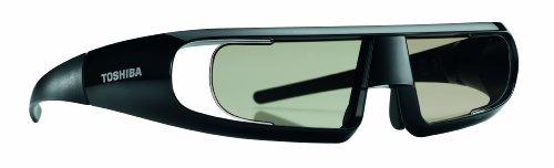Toshiba FPT-AG02G - Gafas 3D (Autonomía: 35 h ), negro