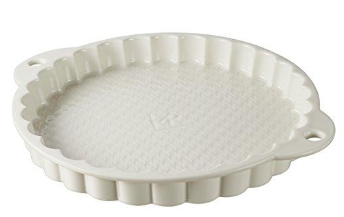Revol natürlichen 647706Tortenform Porzellan creme 3,5cm Revol Creme