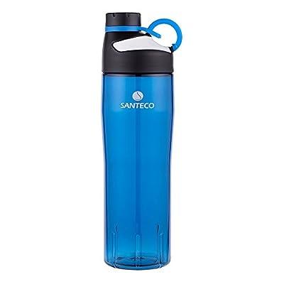 Santeco Oural Sport-Trinkflasche, 740ml Leichte Tritan-Flasche