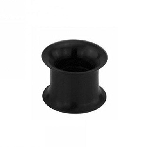 Silikon - Tunnel (Piercing Flesh Tunnel Ohr Plug für gedehnte Ohren Lobes Tubes)