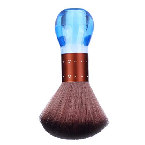 B Baosity Suave Cepillo Plumero Pincel de Limpiador de Cuello Brocha de Peluquería