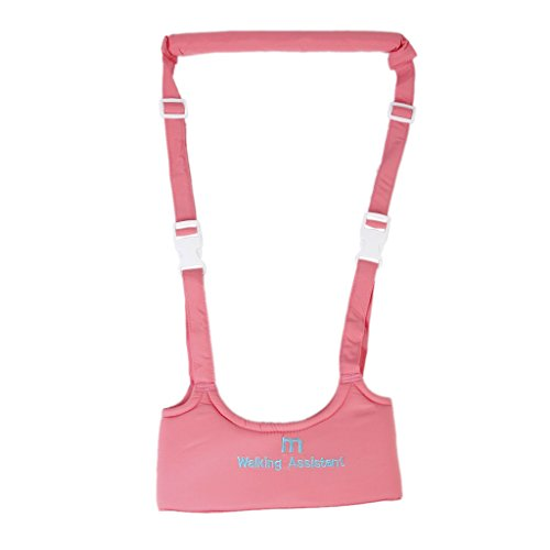 Generic Baby Kinderschutzgurt Weste Sicherheitsgurt Walker Flügel Laufgurt Gürtel Für 6-24 Monate , Gesamtlänge 71cm - Pink (Stabilitäts-walker)