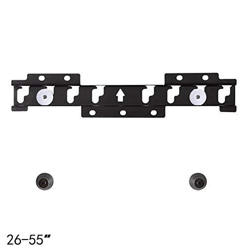 GAIXIA TV-Ständer 32-55 Zoll Wandhalterung Doppel-Loch-TV Universal-LCD-Monitorständer Flaches Display Wandhalterung Wandmontage Wandmontage Wand 32 Mm Kann 30 kg standhalten Fernsehtisch