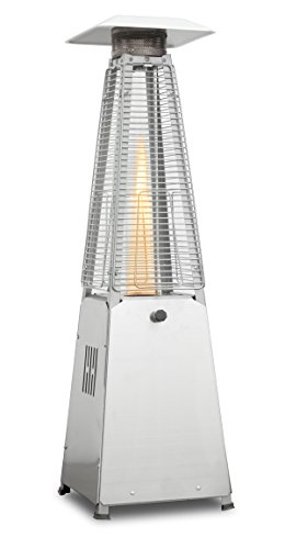 Firefly 4KW Stainless Steel Paros Table Top Outdoor Gas Patio Heater