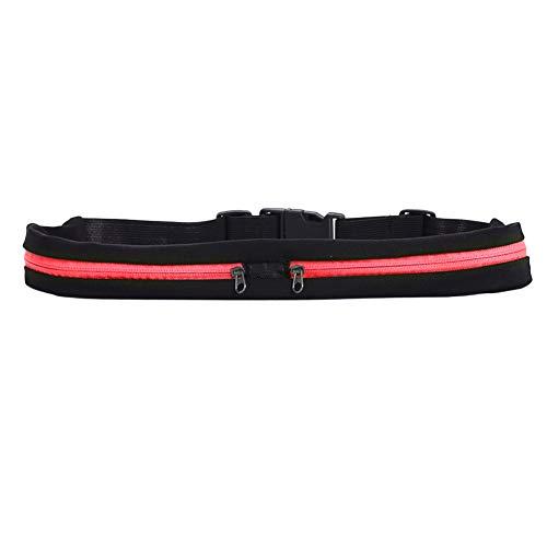 Abracing Dual Pocket Running Belt verstellbare Gürteltasche für Sport Fitness Handys