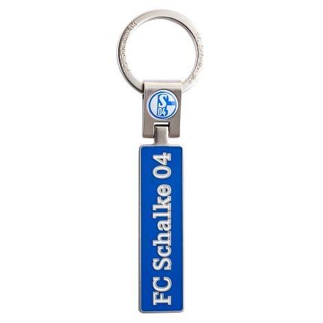 Schlüsselanhänger ''Schriftzug'' Schalke 04
