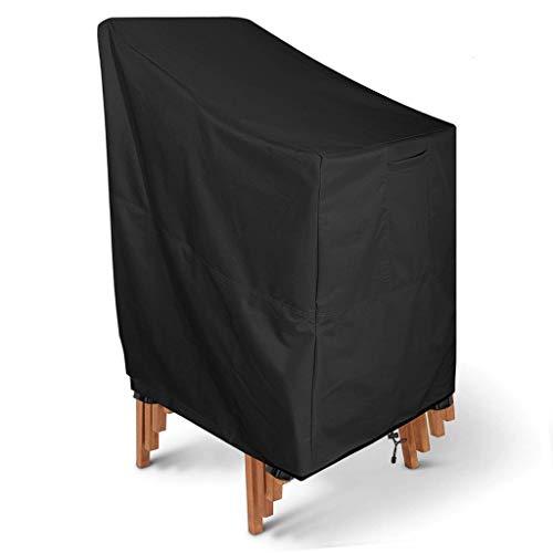 Oxford Tuch Outdoor Möbel Abdeckung Mehrschicht Klappstuhl Abdeckung Wasserdicht Und Staubdicht Sonnenschutz 35.5l * 25.5d * 45 H Zoll - Polyester Klappstuhl Abdeckung