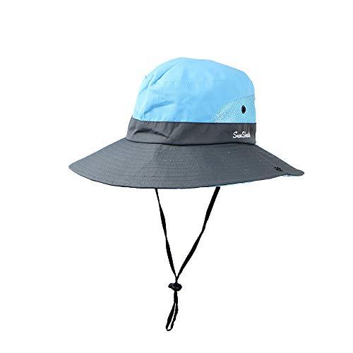 wandernde Wildnis der im Freien zusammenklappbaren Hellen Maschen Fischermaske der Leichten Masche Faltbarer Mesh-Hut mit breiter Krempe ()