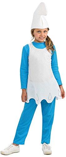 Rubies Smurfs The Lost Village Girls Smurfette Costume ()