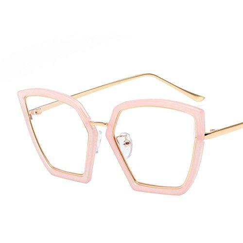 Aoligei Sonnenbrille Eleganz unregelmäßige Sonnenbrille weibliche Flut rundes Gesicht Korea retro - Korea Sonnenbrillen Männer