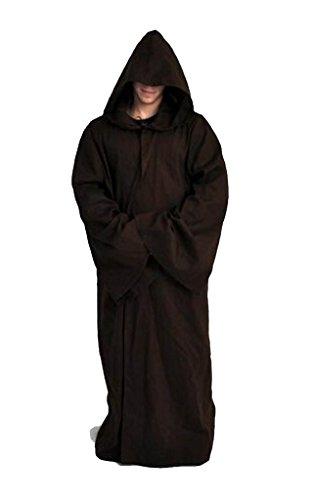 Elecos Star Wars Jedi Robe Deluxe Cosplay Kostüm XXXL Herren