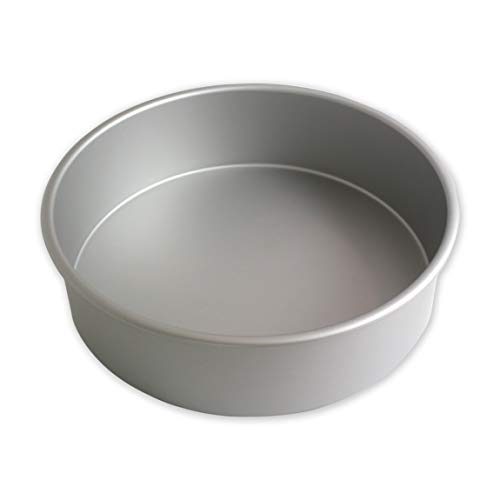 PME RND103 Runde Backform aus eloxiertem Aluminium, 254 x 76 mm, Silver, 25.4 cm Pie Pan Fall