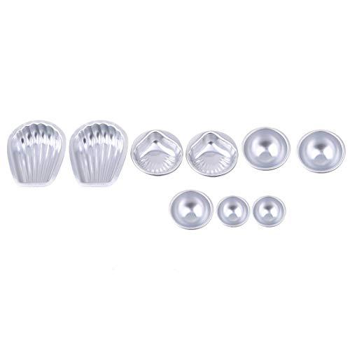 Fliyeong Premium Qualität Bad Bombe Form Sea Shell Form Rond Form DIY Badewerkzeug Zubehör Für DIY Hausgemachte Baden Crafting u0026 Kuchenform Formen