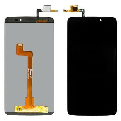 Yuyue display lcd touch screen digitizer assembly per alcatel one touch idol 3 5.5 6045f 6045y (nero)