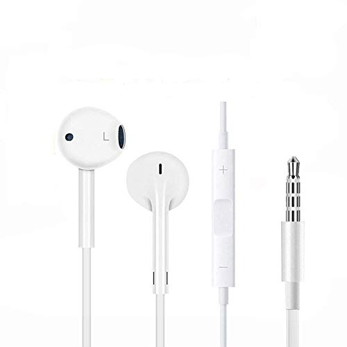 Hi-Fi Plus in-Ear Earphones Compatible for iPhone 4/4s/ 5/5s/ 6/6s/6plus and All Android Smartphones with 3.5 mm Jack and Mic Image 4