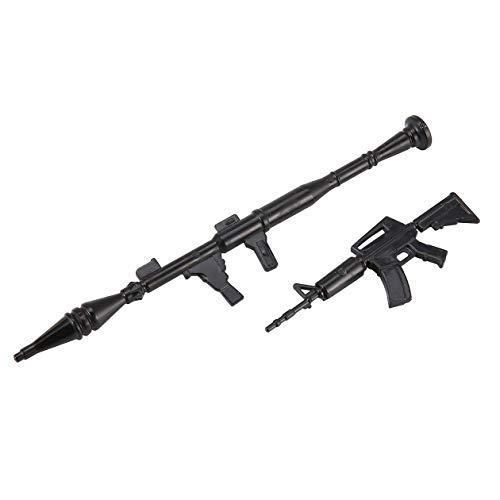 Mini-Spielzeug-Maschinengewehr-Emmagee für RC Militär Auto-LKW-Kit Kinder Geschenk-Komponenten Ersatzteile Zubehör Kit