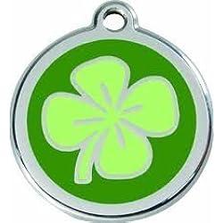 Red Dingo Médaille Pour Chiens Trèfle Porte-bonheur - 1CV / Feuille de trèfle, S