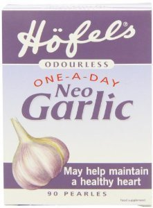 Deluxe Quality Hofels Odourless One-A-Day Neo Garlic Supplement - 90 Pearles - (Pack of 2 ) by HOFELS PURE FOODS