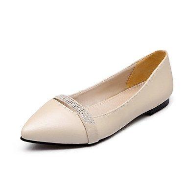 Confortevole ed elegante piatto scarpe donna Appartamenti Primavera Estate altri Casual in similpelle tacco piatto nero rosa viola Beige beige